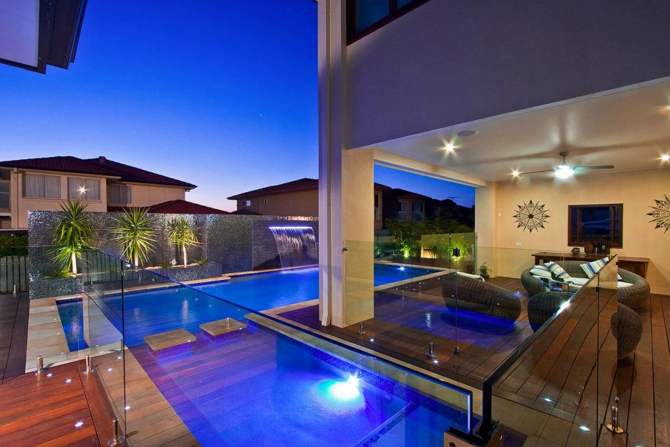 Another awesome pool by Cozy Pools, local pool builders on the Gold Coast